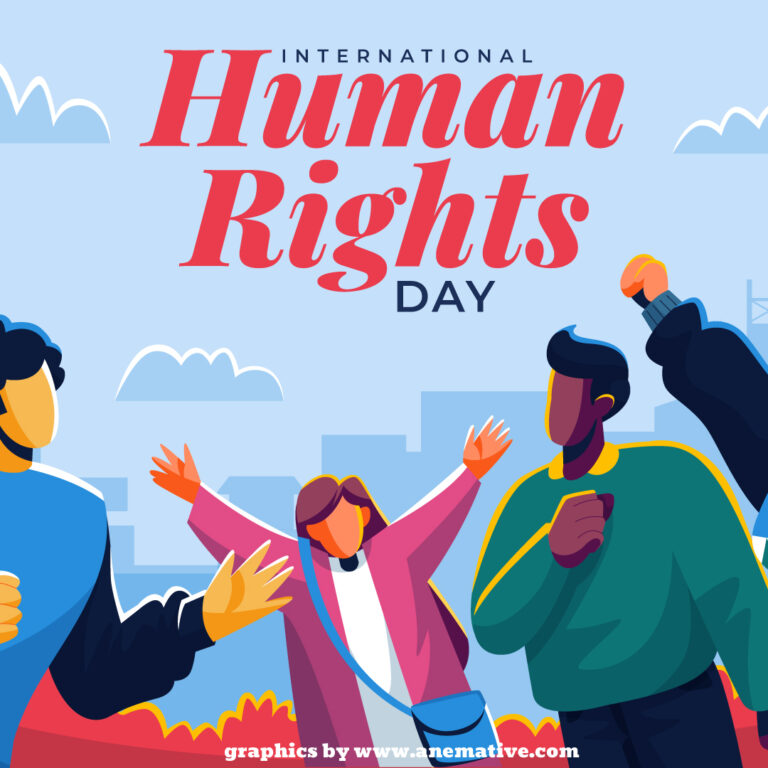 Social Media Post created by Anemative for Human Rights Day