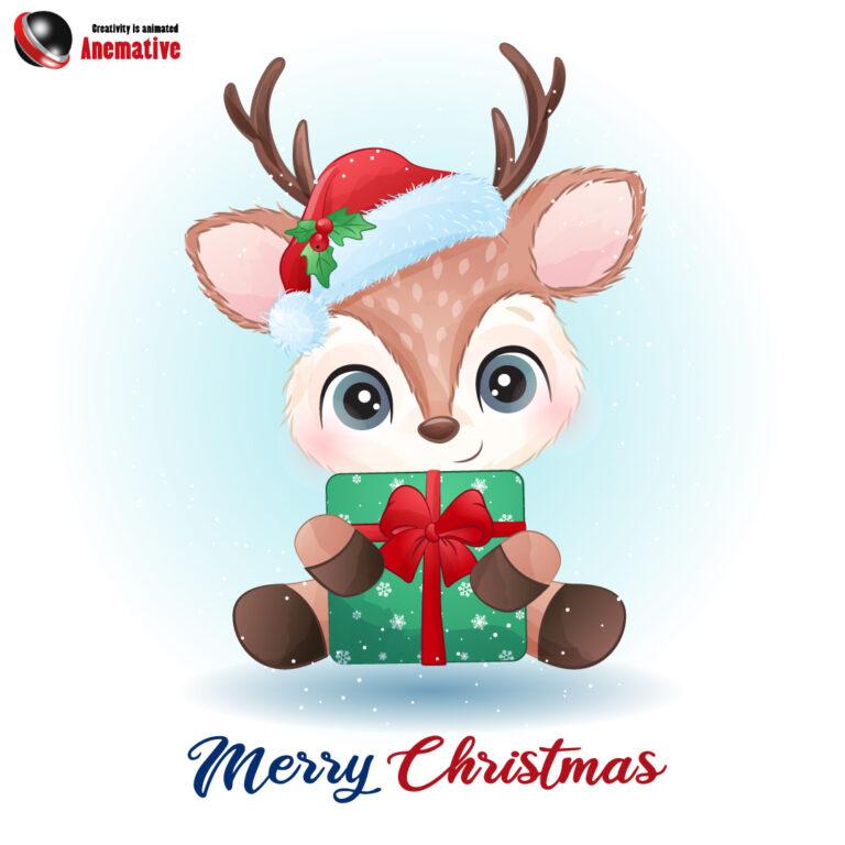 Social Media Post to Wish Christmas